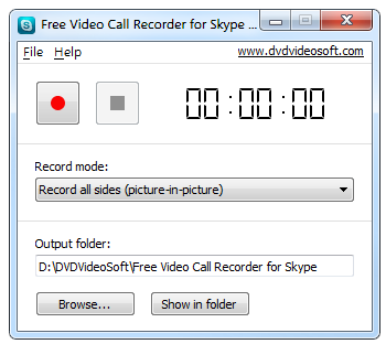 Télécharger Free Video Call Recorder for Skype